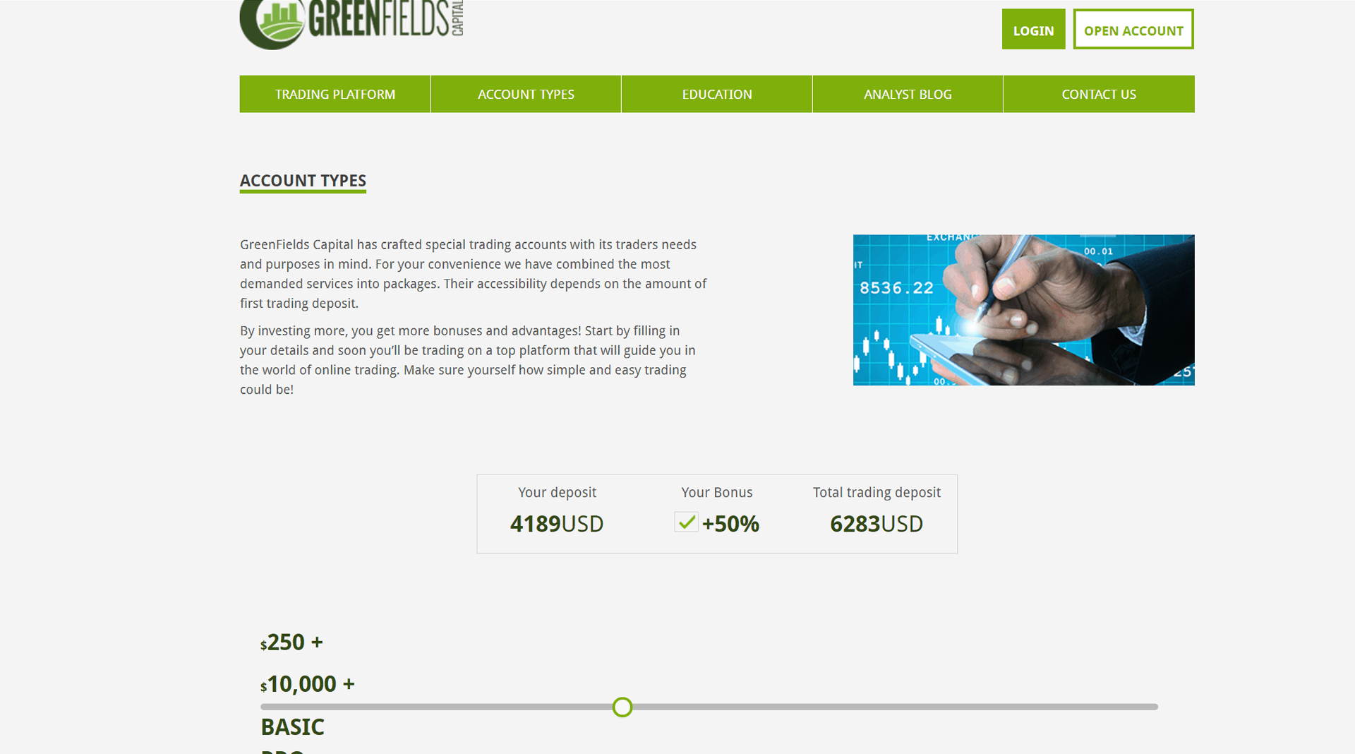 bitcoin trader greenfields capital