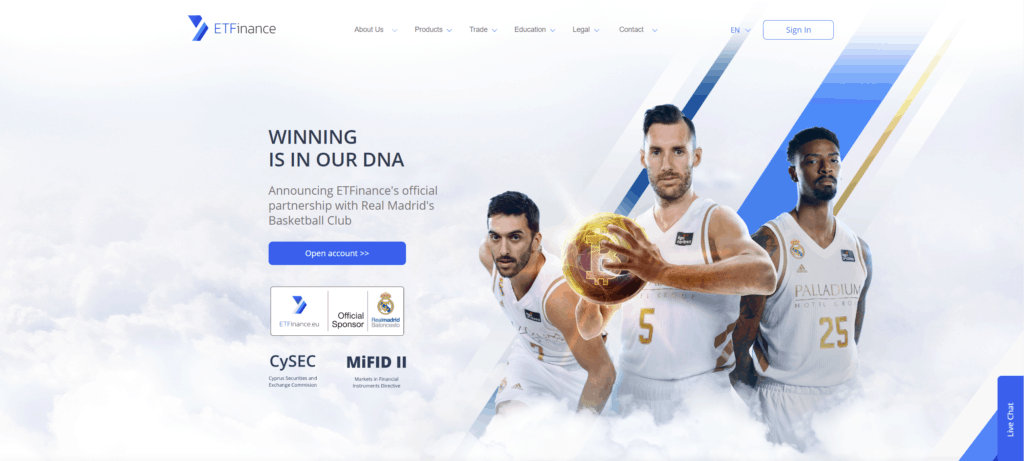 ETFinance partners with Real Madrid basketball